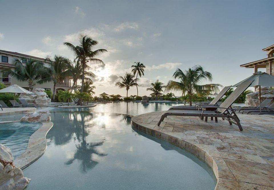 sky Resort swimming pool Sea shore marina dock Beach Lagoon plant