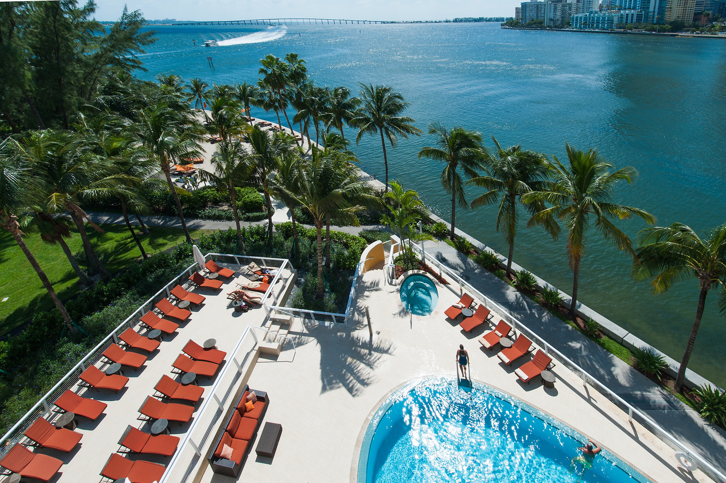 Resort leisure swimming pool resort town tropics palm tree arecales tree caribbean Sea travel recreation coastal and oceanic landforms Lagoon Beach plant