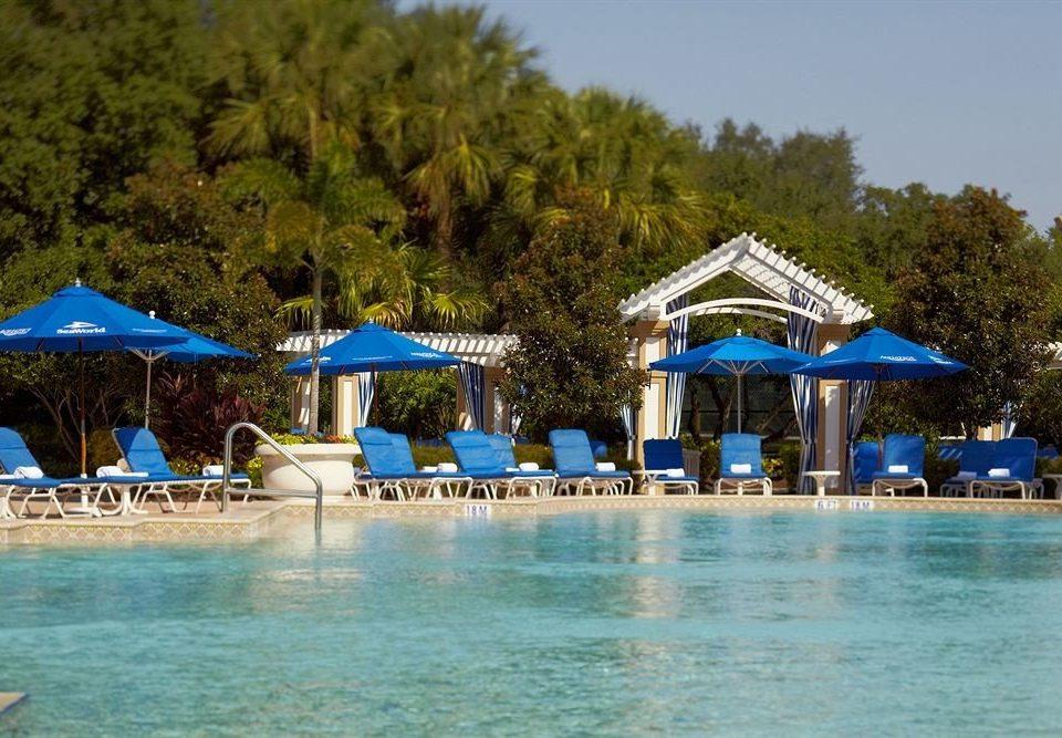 tree leisure swimming pool Resort Beach blue Water park resort town Lagoon airplane aircraft Sea caribbean amusement park swimming shore