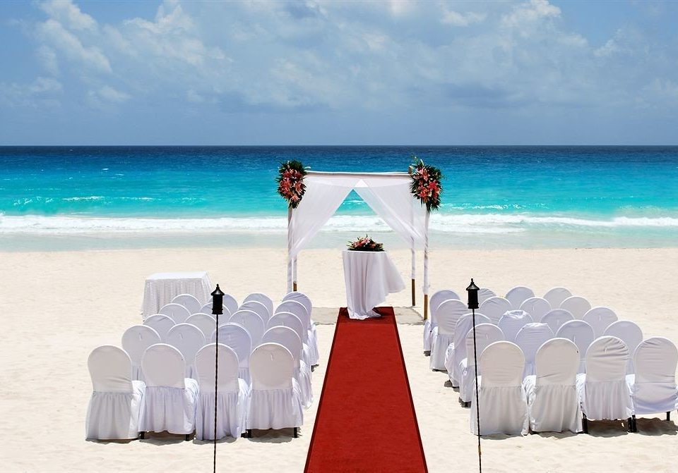 sky water Beach leisure Ocean wedding ceremony Sea Nature caribbean shore sandy