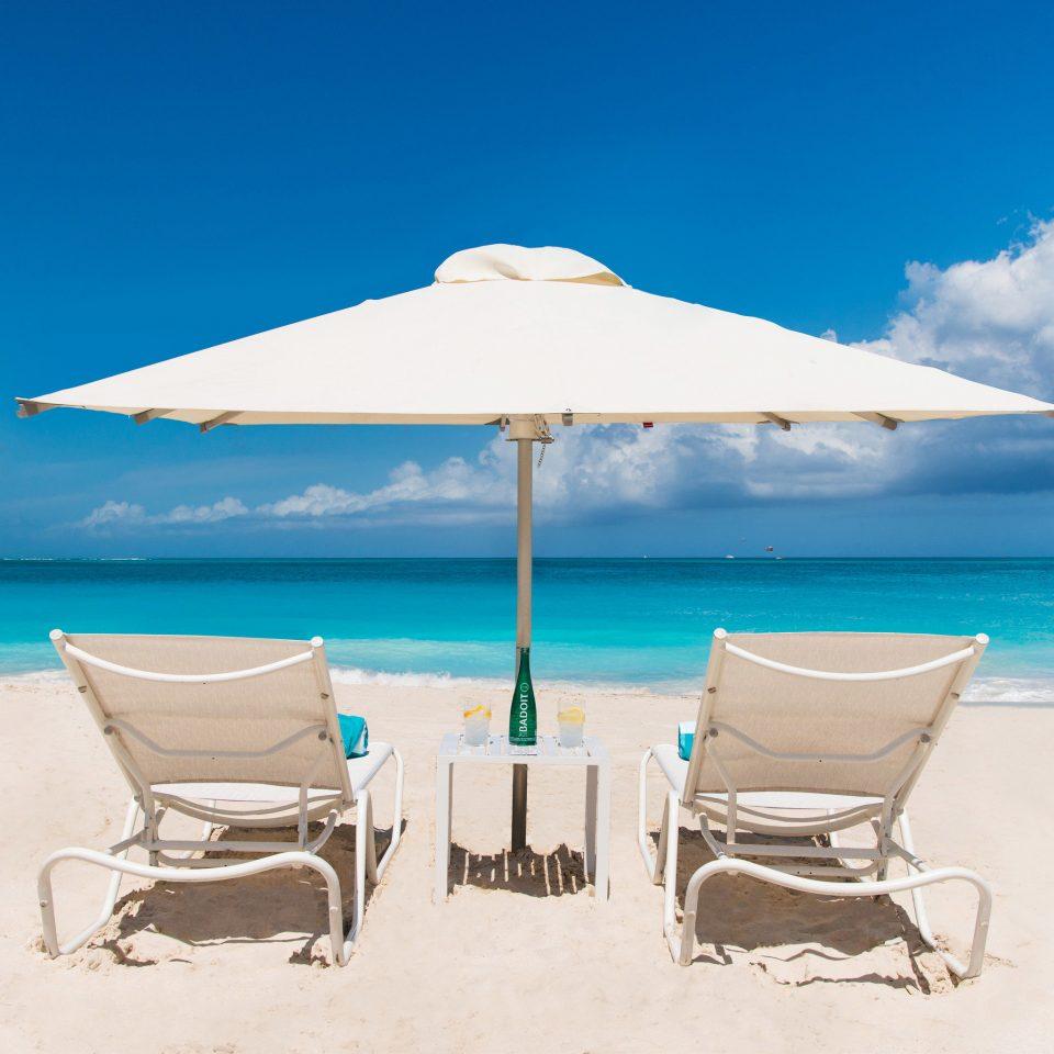 sky umbrella water Nature Beach chair shore fashion accessory Sea Ocean caribbean day