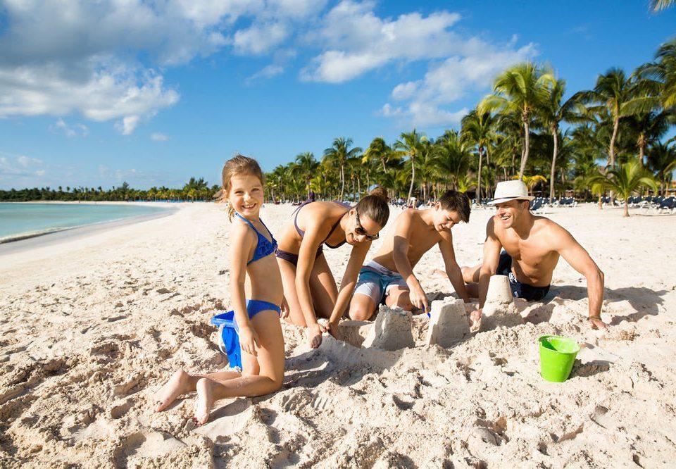 sky Beach ground sun tanning sand Nature Sea swimsuit caribbean shore sandy day