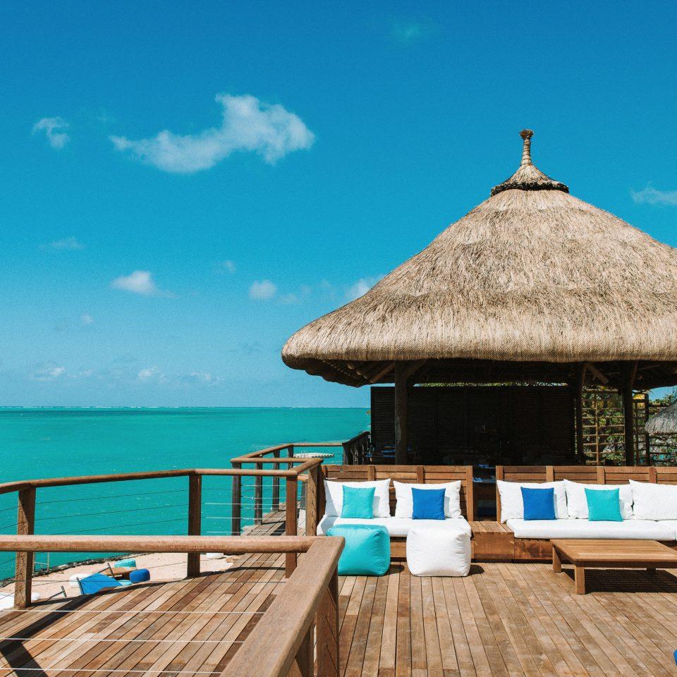 sky chair swimming pool Resort Sea caribbean Ocean Beach Villa cottage