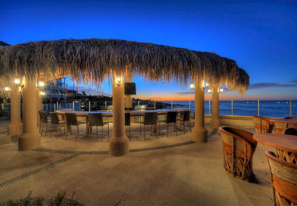 sky ground night Beach Ocean Sea evening Resort shore