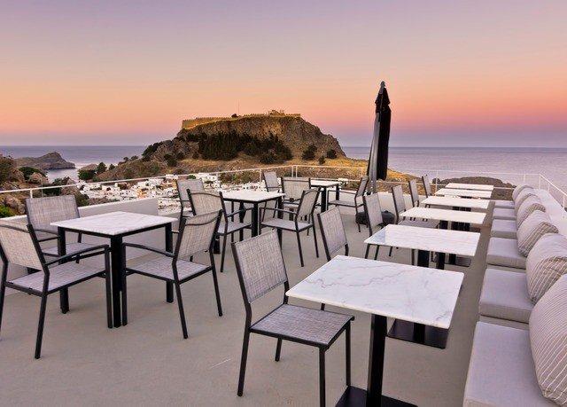 sky water chair property Resort restaurant Ocean Sea Beach set