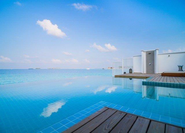 sky water swimming pool property Sea Ocean caribbean Resort Beach Villa blue shore