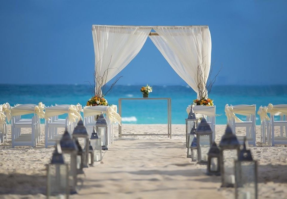 sky ground Beach blue Sea Ocean wedding ceremony sandy