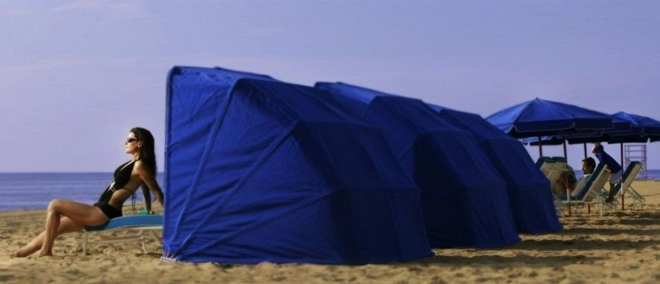 tent Beach wind outdoor object sandy