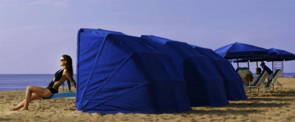 tent Beach wind outdoor object sandy