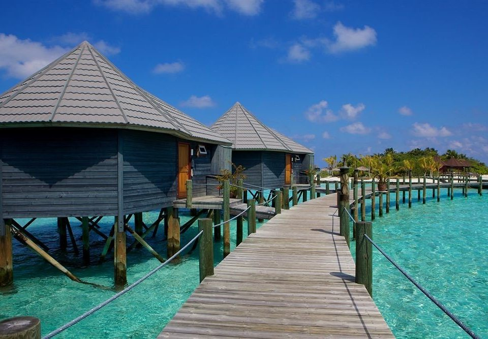 water sky ground scene swimming pool leisure dock wooden pier walkway Resort Pool Beach Sea docked swimming