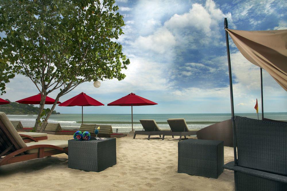 sky umbrella chair leisure Beach Resort shade day