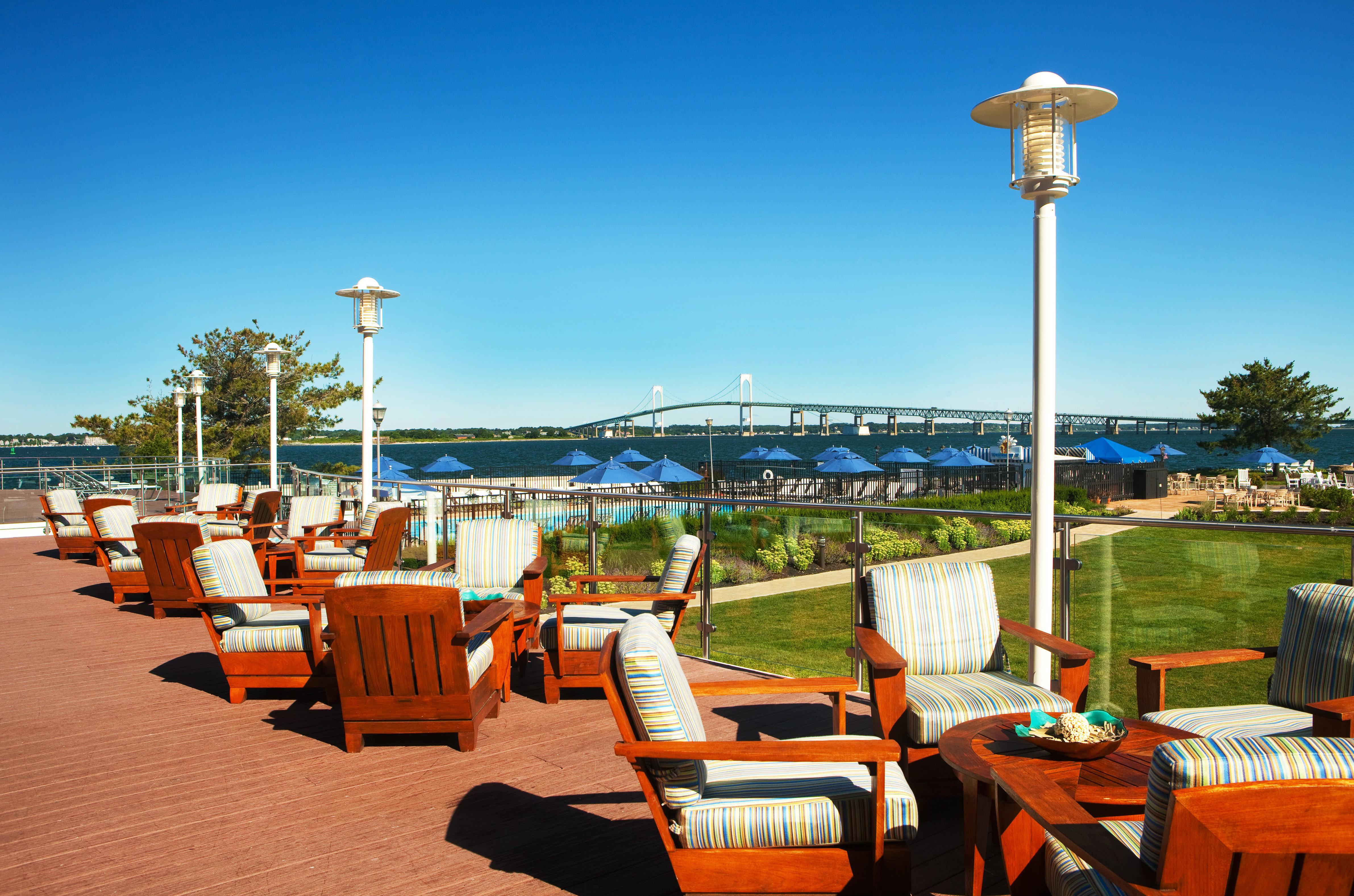sky chair leisure Resort marina Beach dock walkway restaurant day