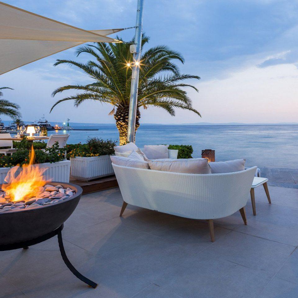 tree property swimming pool Resort caribbean home arecales Beach Villa Sea palm