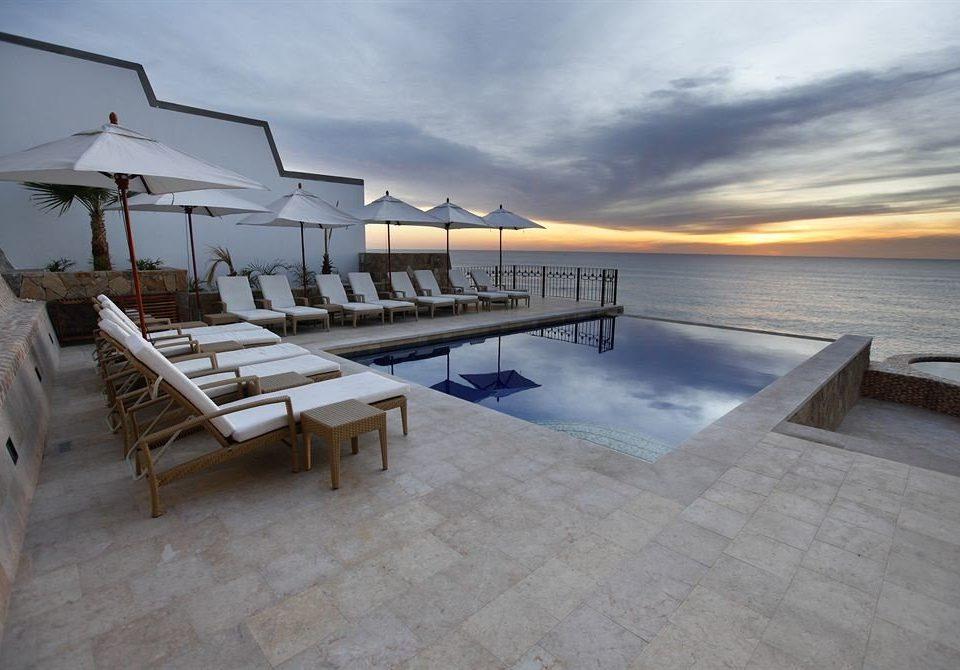 sky property swimming pool dock Resort Villa Sea marina walkway Beach
