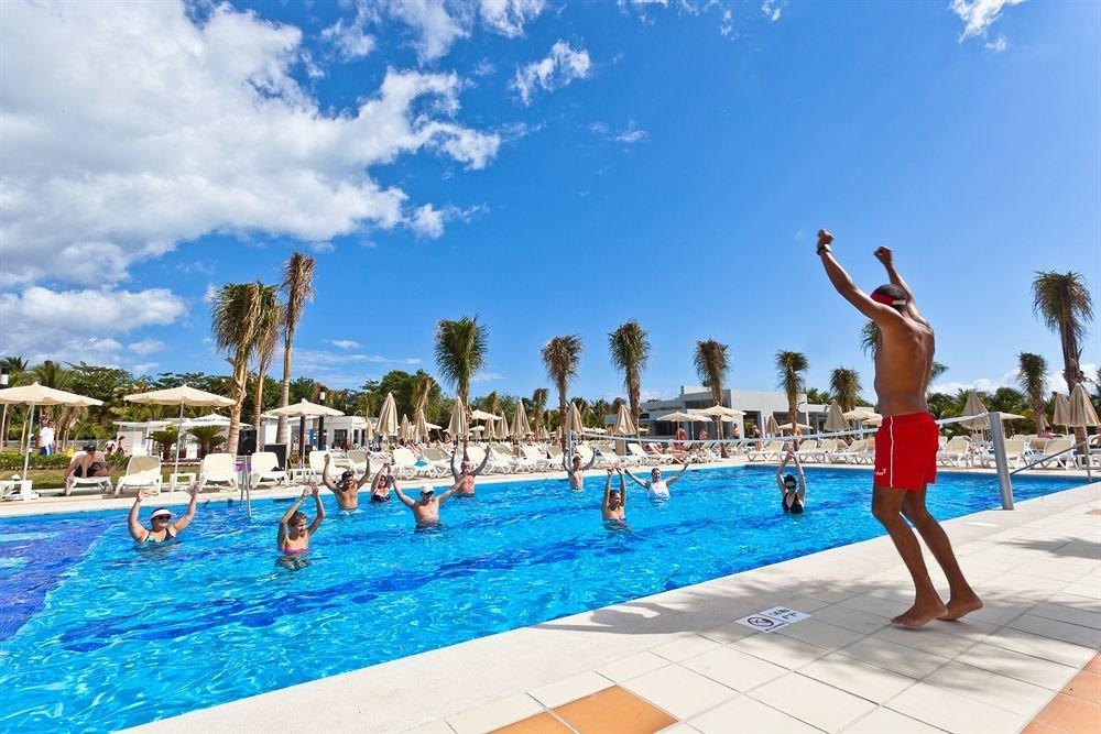 sky ground Beach leisure swimming pool Resort water sport Water park Sea sandy swimming day