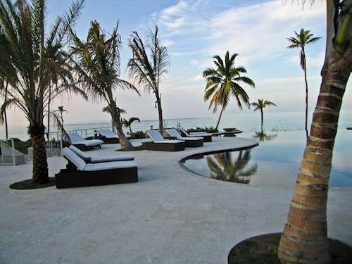 tree sky palm property Resort arecales Beach walkway plant palm family Villa sandy