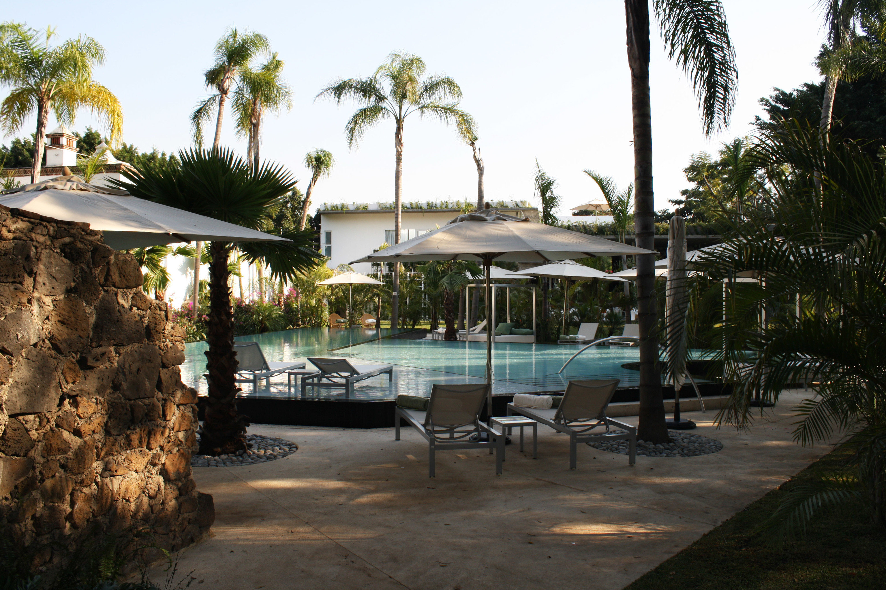 sky tree Resort arecales Beach restaurant swimming pool Villa shore shade