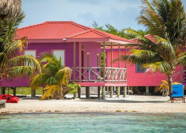 sky tree property Resort leisure caribbean Beach swimming pool Villa hacienda palm colorful shore