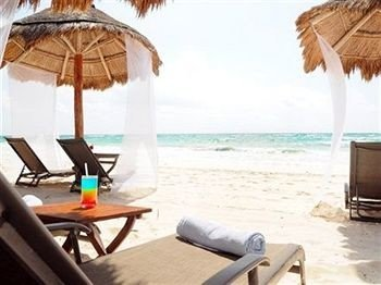 water sky chair umbrella Beach leisure caribbean Resort cottage Villa sandy