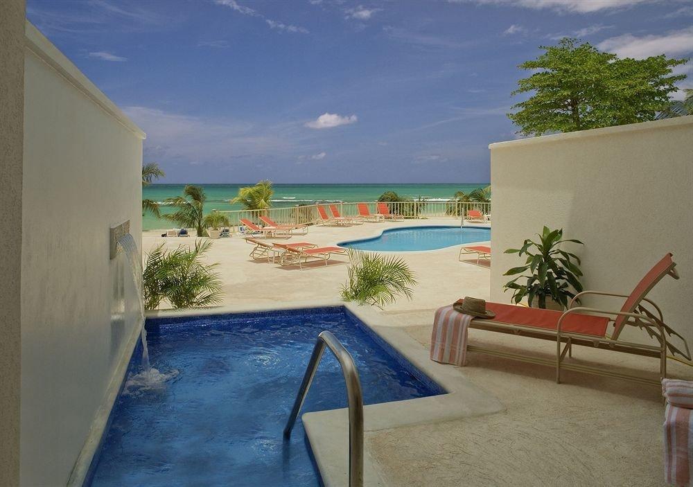 property house swimming pool Villa home caribbean Resort Beach hacienda cottage