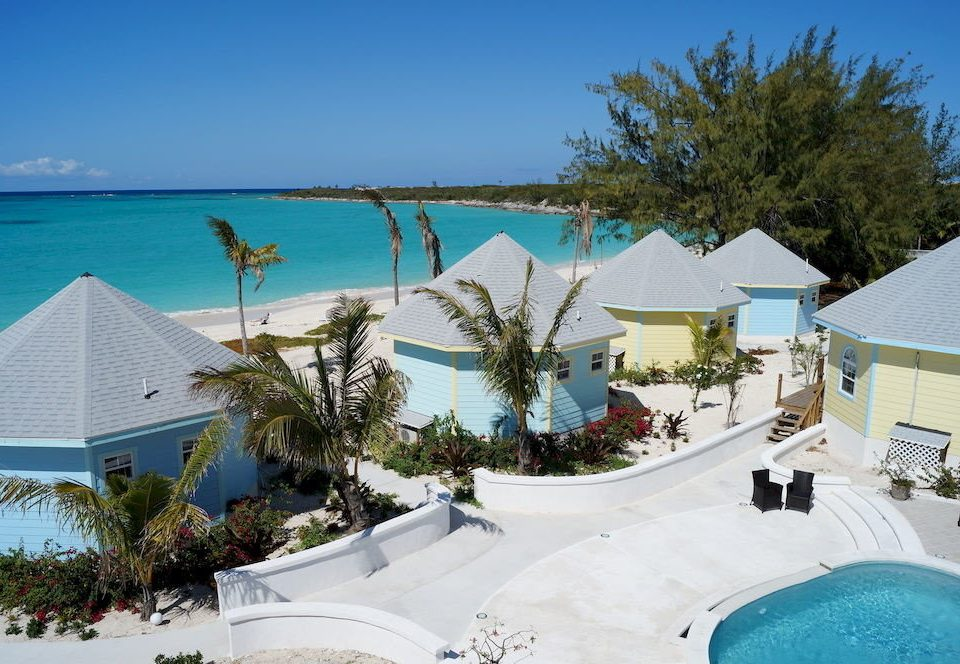 sky tree property Resort swimming pool leisure caribbean Beach Villa home resort town Water park shore