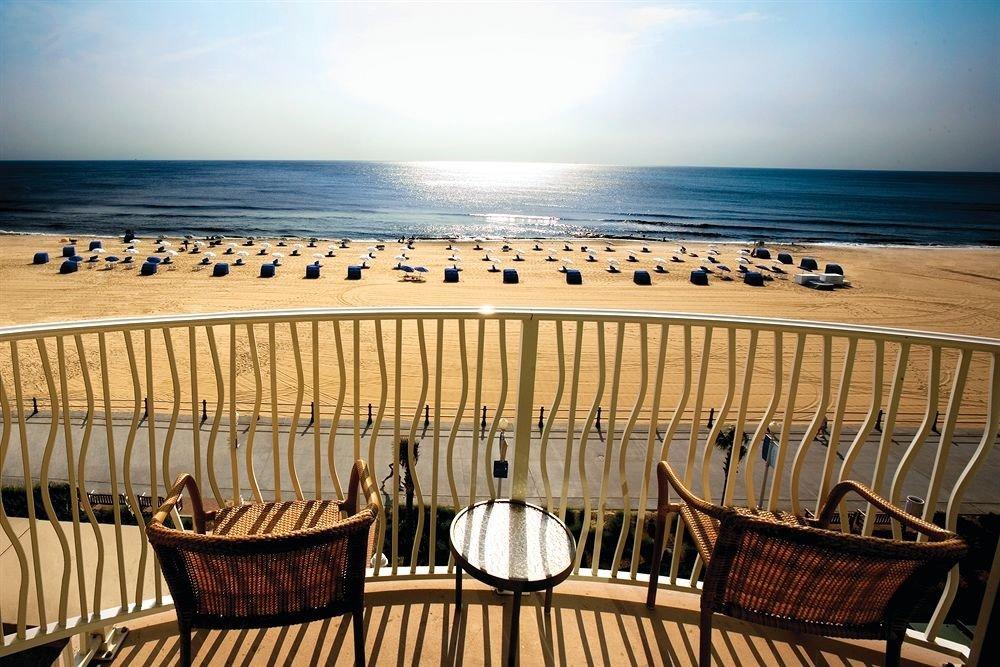 sky chair water Beach Sea overlooking shore