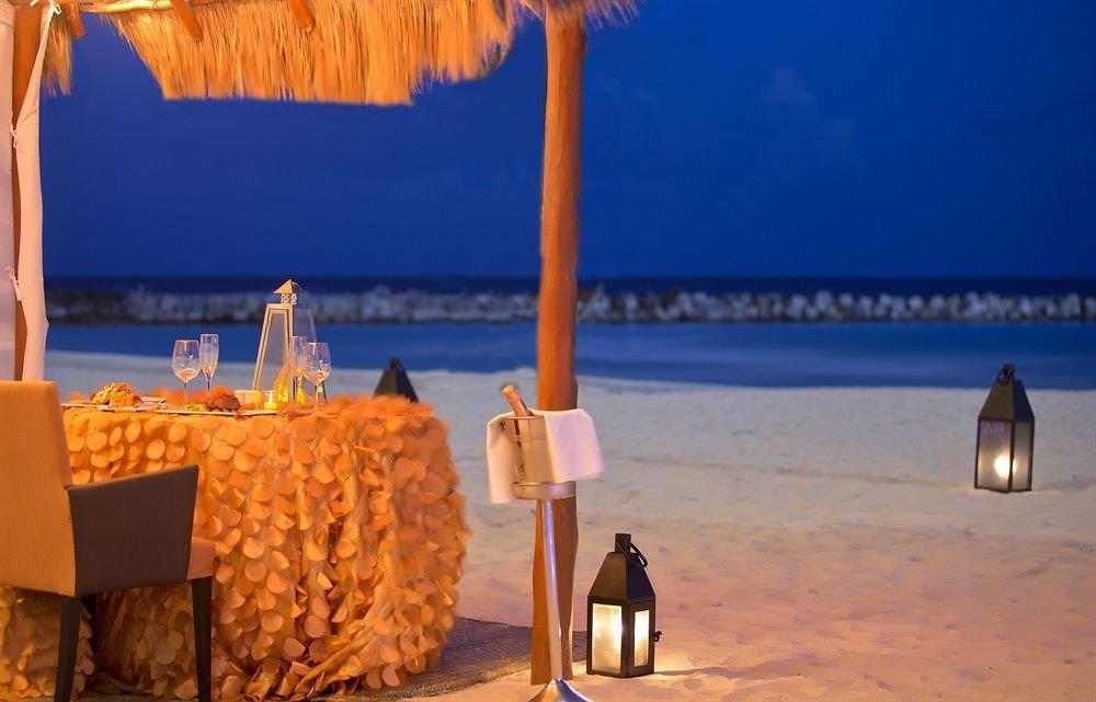 Beach lighting Sea