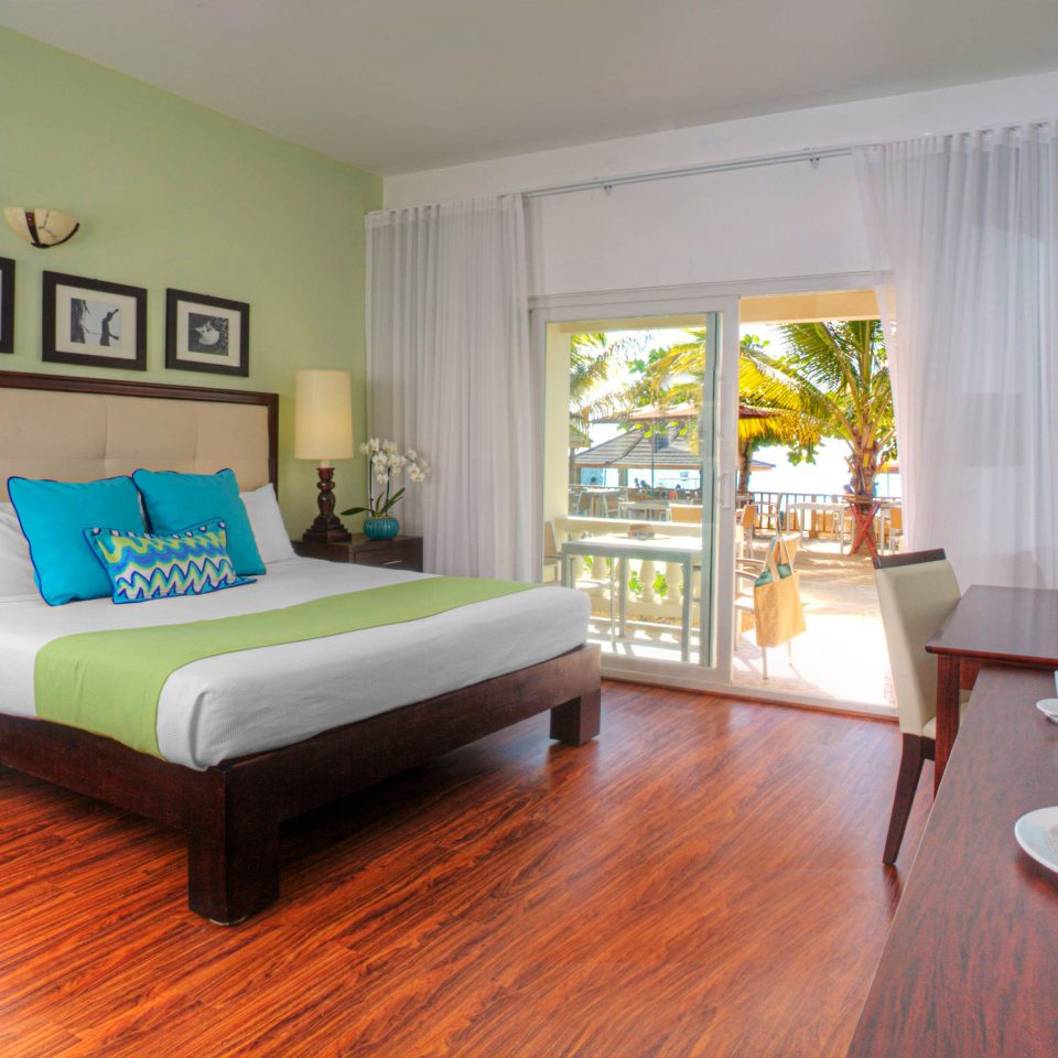 Beachfront Bedroom Boutique Island property living room home hardwood cottage Villa wood flooring laminate flooring hard