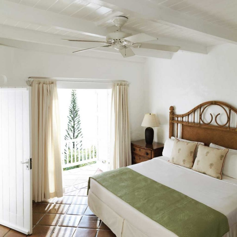 Beachfront Bedroom Boutique Island Tropical property cottage home Suite farmhouse living room bed frame
