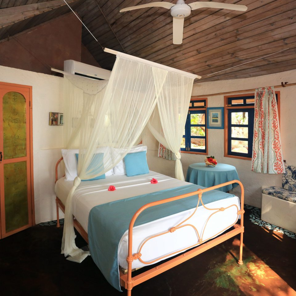 Beachfront Bedroom Boutique Romantic Rustic Tropical property house cottage home Villa Resort living room