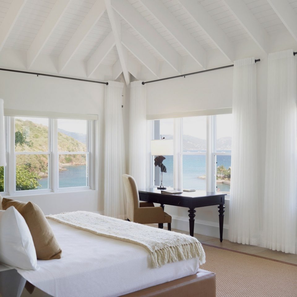 Beachfront Bedroom Elegant Island Resort Romantic Scenic views Villa Waterfront property home living room daylighting