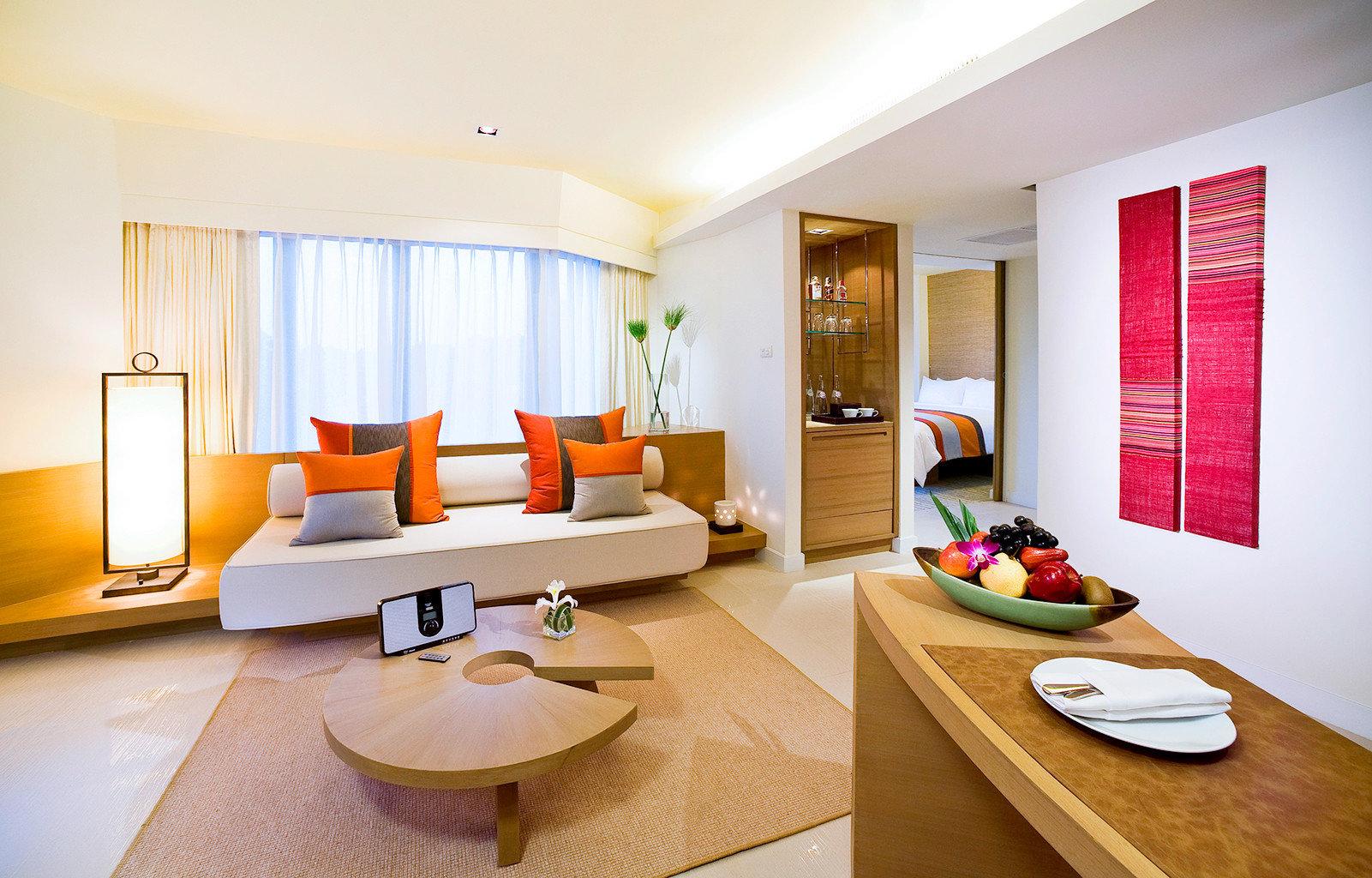 Beachfront Family Honeymoon Island Lounge Resort Romance property condominium Suite living room home Villa flat cottage Bedroom Modern
