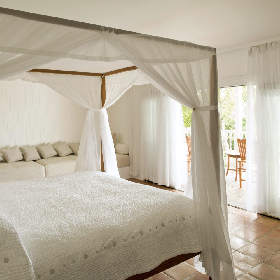 Beachfront Bedroom Hotels Luxury Resort Romance Romantic property cottage Suite four poster