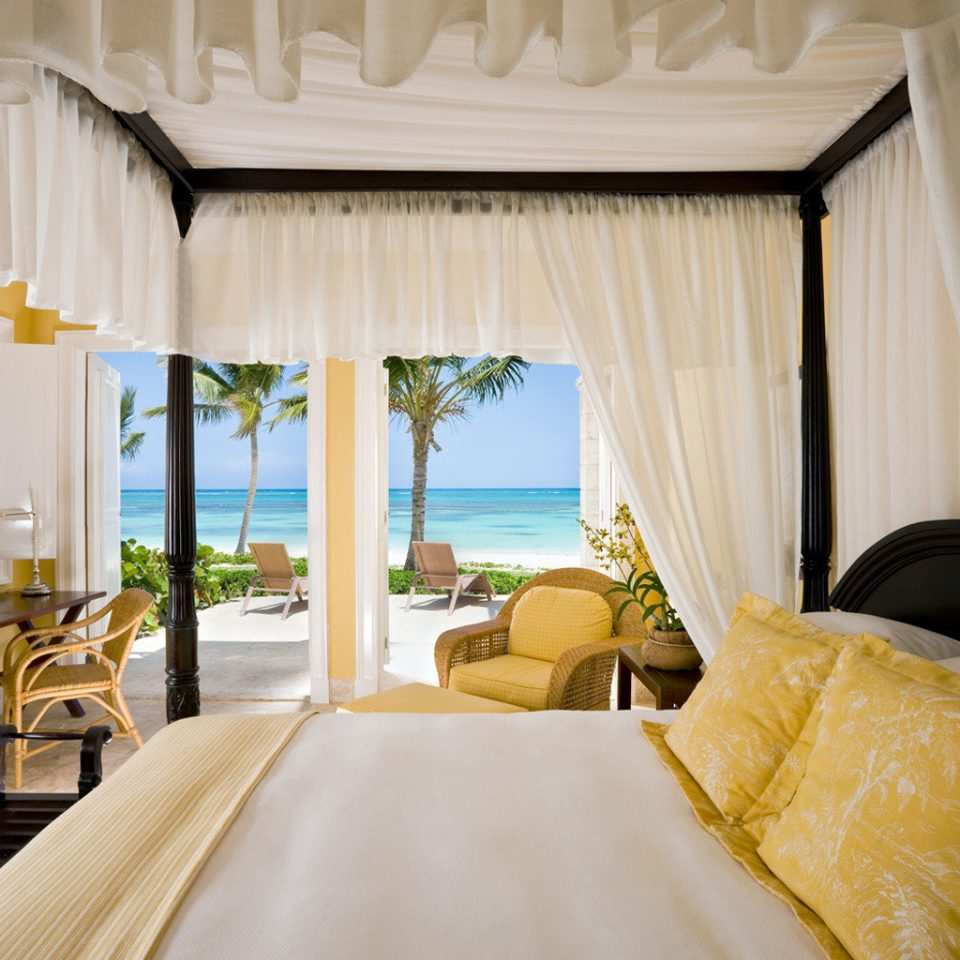 Beachfront Bedroom Hotels Luxury Modern Resort Suite Trip Ideas property curtain home cottage Villa arranged