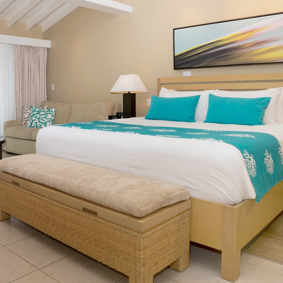 Beachfront Bedroom Hotels Modern Suite property green bed frame bed sheet cottage
