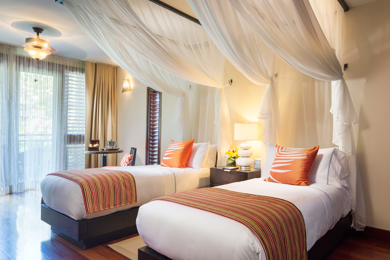 Beachfront Bedroom Island Modern Resort Romantic Tropical sofa property Suite curtain living room cottage