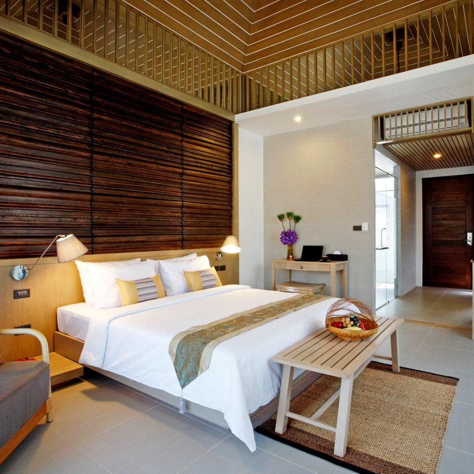 Beachfront Bedroom Jungle Modern Tropical property living room home Suite condominium cottage Villa