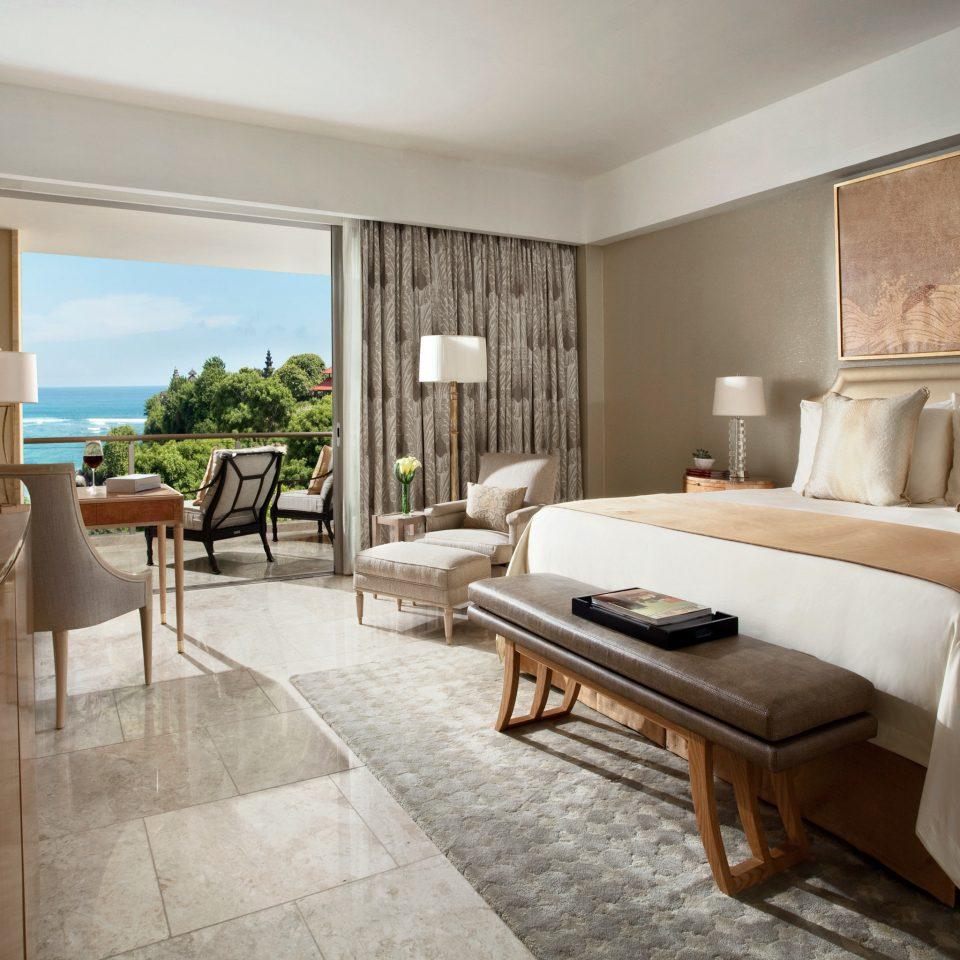 Beachfront Bedroom Luxury Modern Suite sofa property home living room hardwood Villa condominium cottage