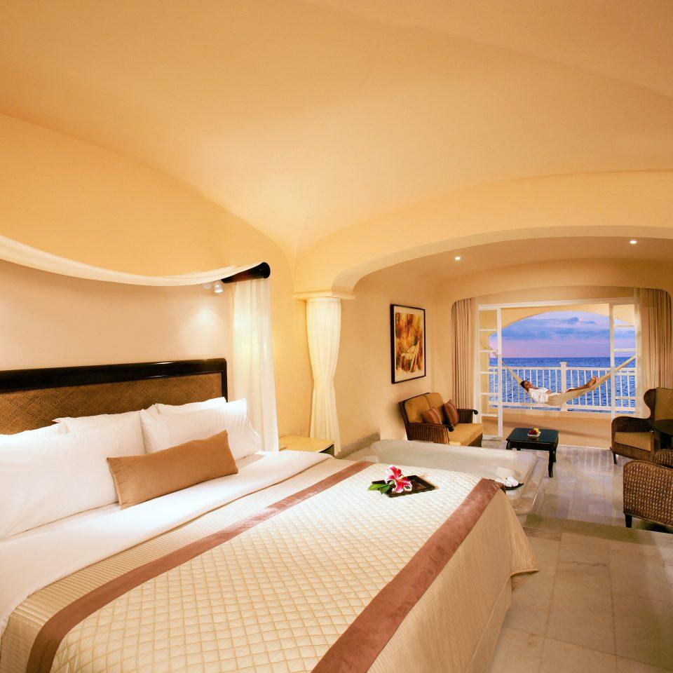 Beachfront Bedroom Luxury Modern Scenic views Suite property Resort Villa cottage