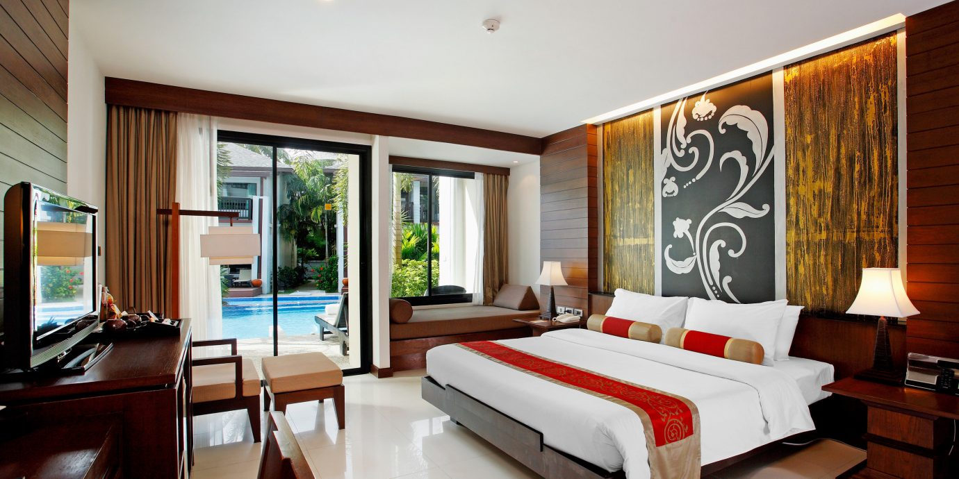Beachfront Bedroom Romantic property condominium Suite living room home Resort Villa Modern