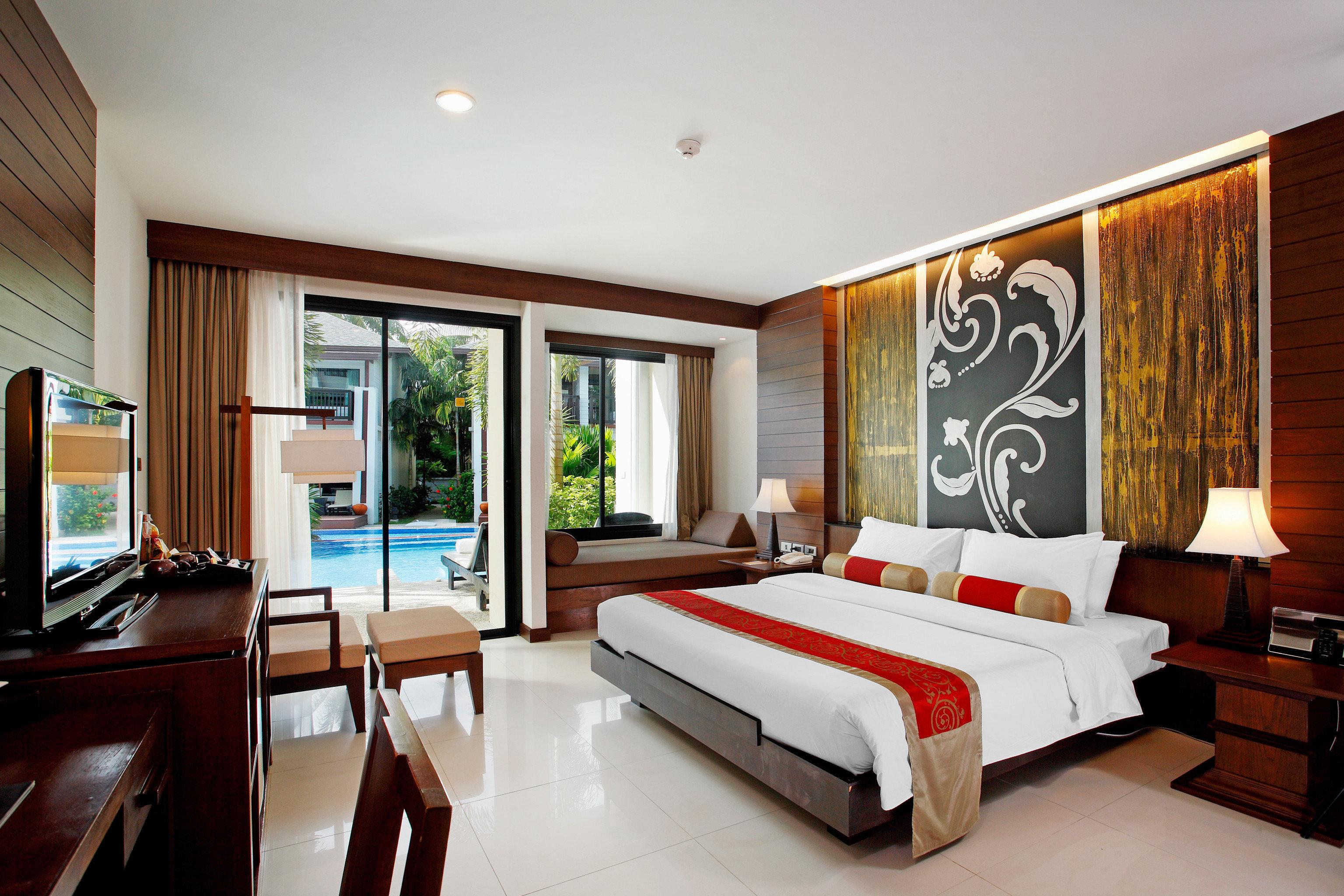 Beachfront Bedroom Romantic property condominium Suite living room home Resort Villa Modern