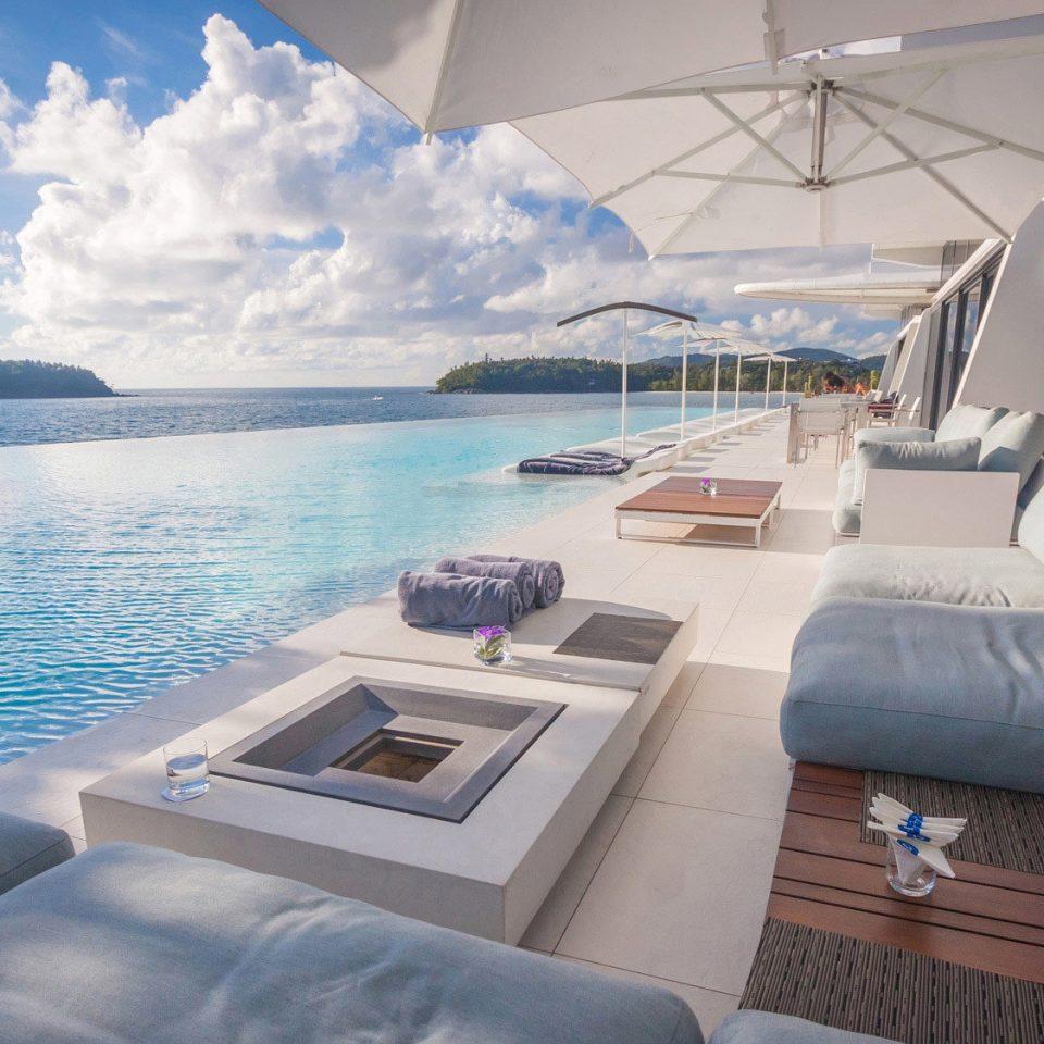 Beachfront Deck Hip Luxury Modern Pool Scenic views Boat passenger ship vehicle luxury yacht ecosystem yacht ship watercraft caribbean Sea