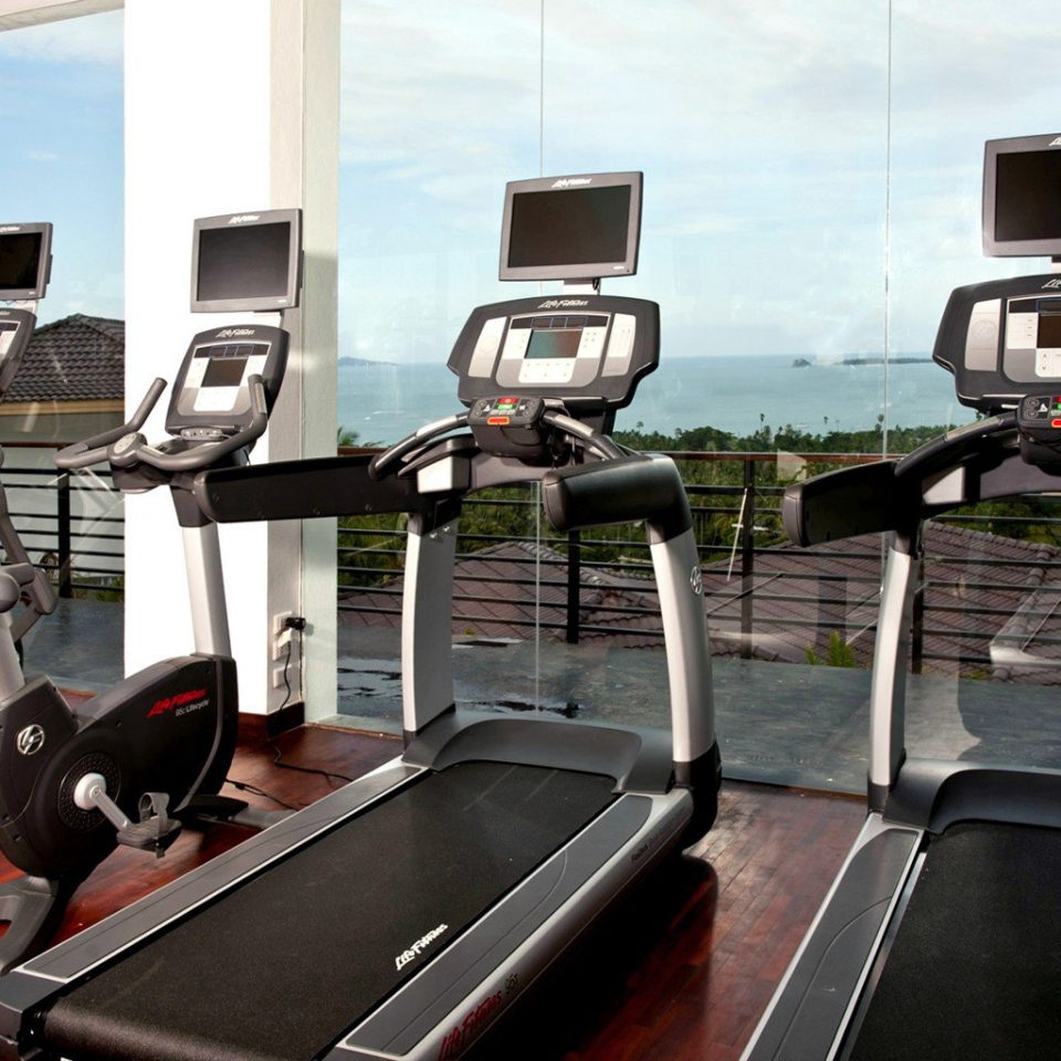 Beachfront Boutique Fitness Wellness Sport exercise device structure exercise machine sport venue gym exercise equipment sports equipment treadmill