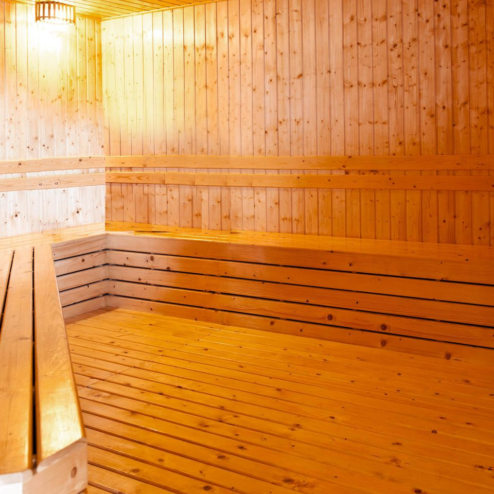 Beachfront Boutique Fitness Wellness wooden man made object hardwood bathroom sauna wood flooring empty
