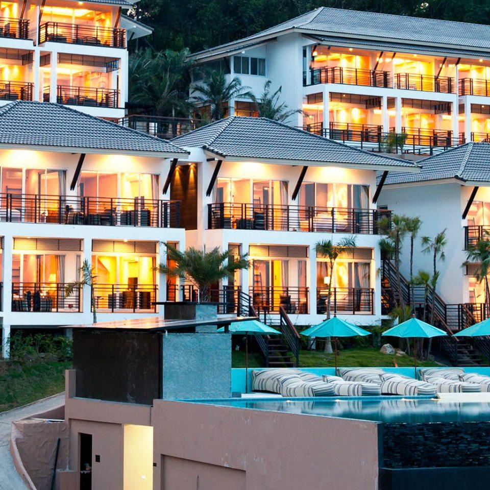 Beachfront Boutique property building Resort restaurant condominium