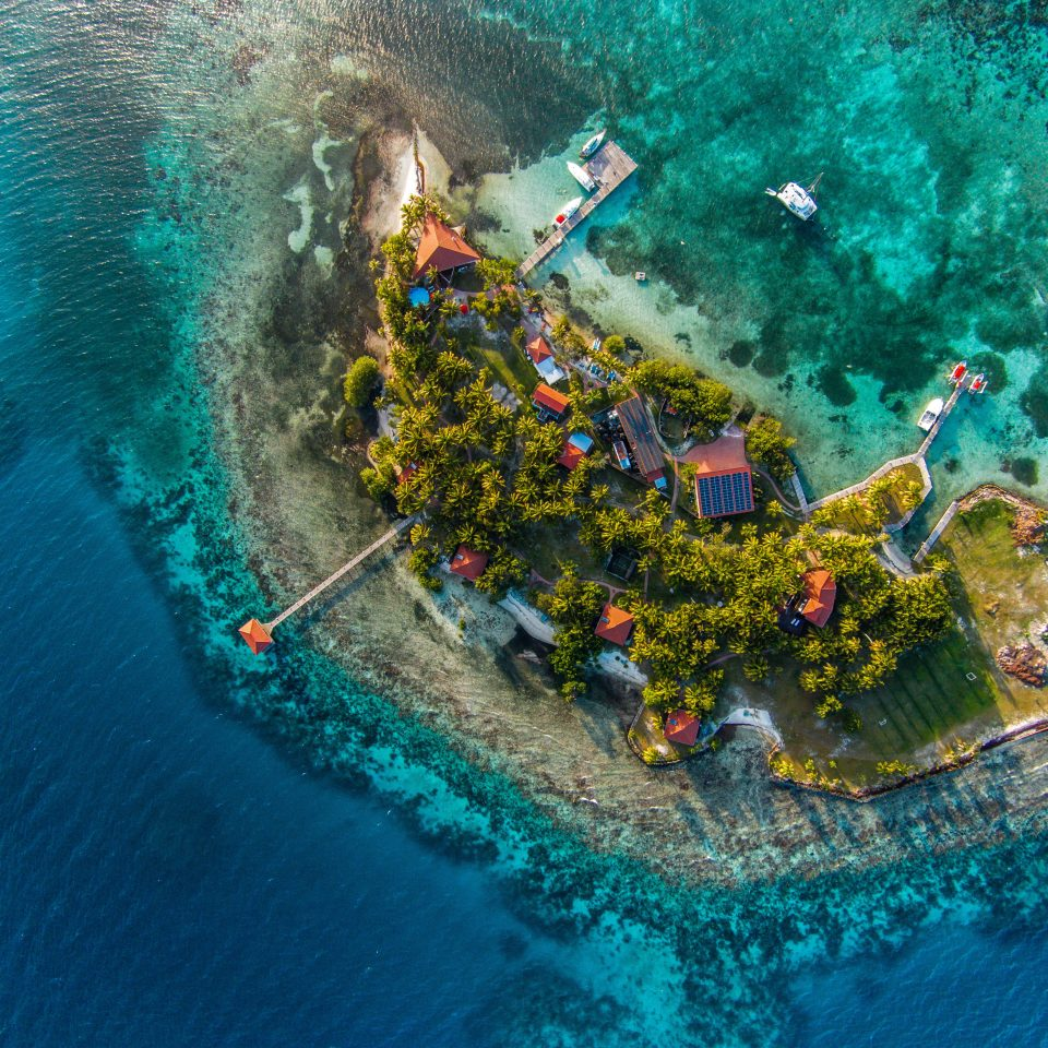 Beachfront Budget Family Grounds Island Tropical marine biology aerial photography Sea Ocean reef vehicle swimming