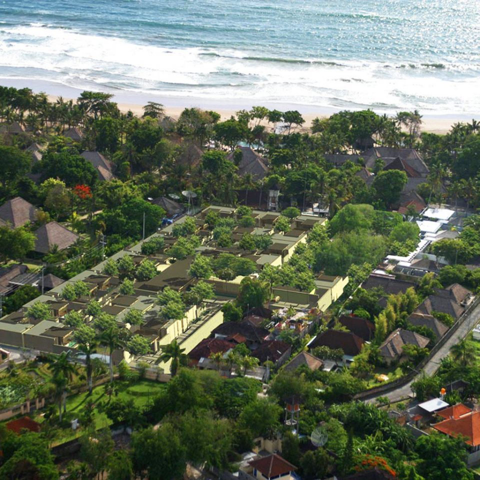 Beachfront Exterior Luxury Scenic views Tropical Town aerial photography residential area Coast bird's eye view Nature Village Resort suburb flower Garden plant lush hillside
