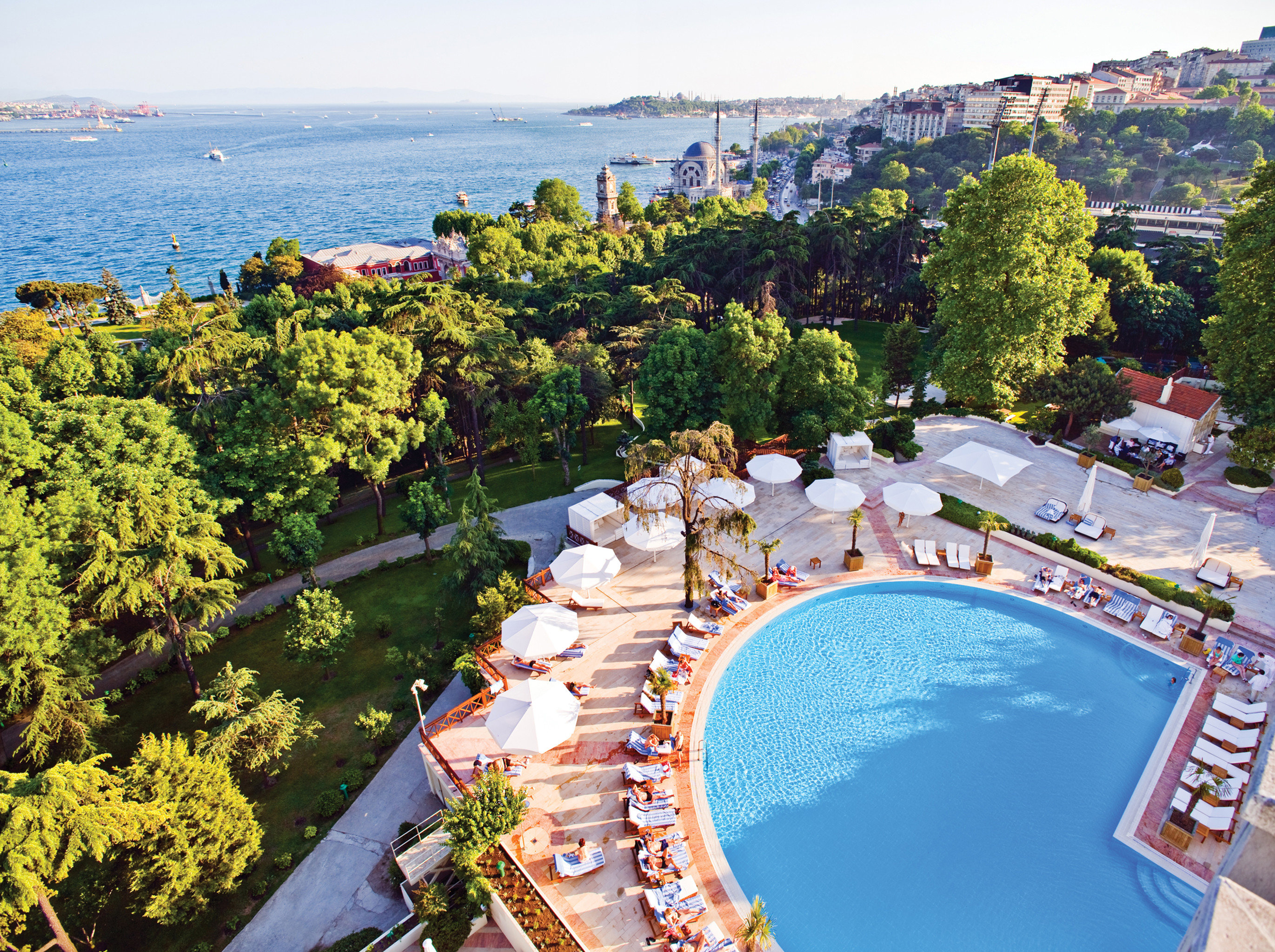 Beachfront Hip Lounge Luxury Modern Pool tree leisure Resort swimming pool Sea Coast amusement park Water park park