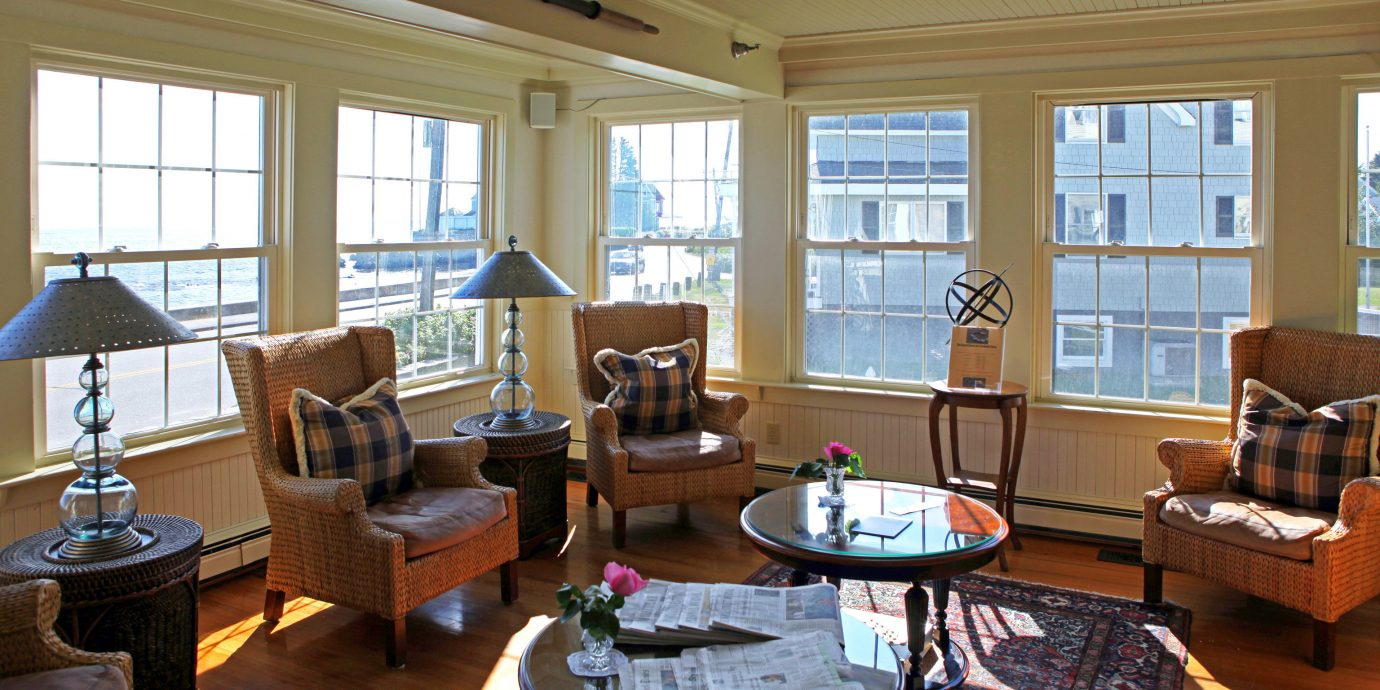 Beachfront Country Hotels Inn Lounge Scenic views Waterfront living room property home house hardwood cottage condominium Fireplace Villa Resort Suite