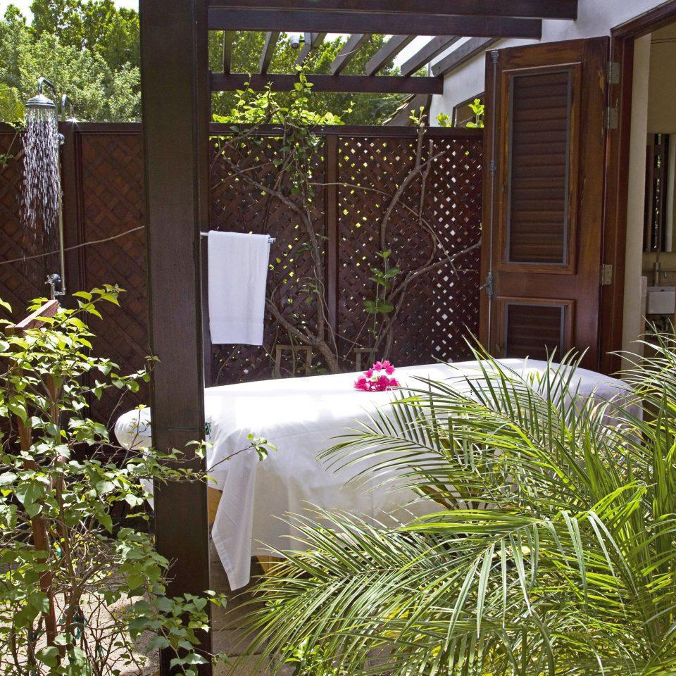 Beachfront Luxury Resort Spa Wellness tree plant property backyard yard Garden Courtyard outdoor structure home flower cottage porch Villa landscape architect landscaping
